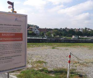 Sperrung der Reussbrücke Unterwindisch-Gebenstorf