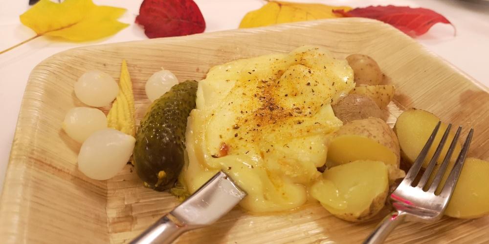 Hmmm, eine feine Portion Raclette!